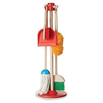 Melissa & Doug Let s Play House Dust! Sweep! Mop! 6 Piece Pretend Play Set