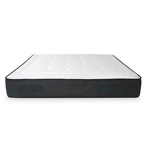 Somnia Descanso - Colchón Viscoelástico Lux Biogel | Máximo Confort | Tejido Antibacteriano Termorregulador | 140x200