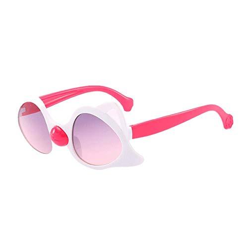Battnot Sonnenbrille für Kinder, Billig Unisex Vintage Unregelmäßige Sonnenbrillen Fashion Strahlenschutz Mode Brillen Jungen Mädchen Retro Weinlese Sunglasses Super Coole Travel Eyewear