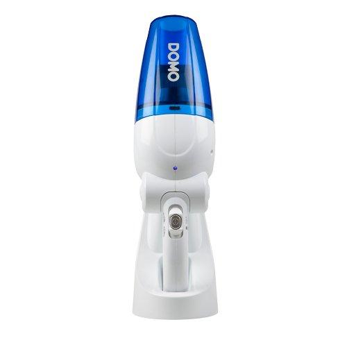 Domo DO210S Accu-stofzuiger voor vaste stoffen en vloeistoffen wit/blauw één maat