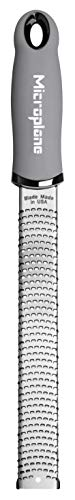 Microplane Grater Premium Classic Series Zester, 18/8, Grey