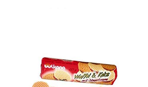 Wikana Waffel & Keks mit Nougatcreme 240g