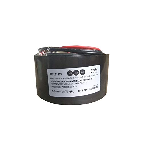 Transformateur IP65 pour ampoule LED de piscine 100 W 12 Vca