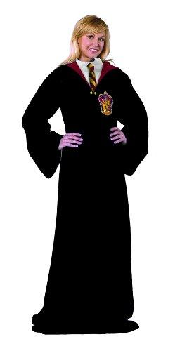 Harry Potter Comfy Throw - Gryffindor Robes Fleece Blanket Sleeves