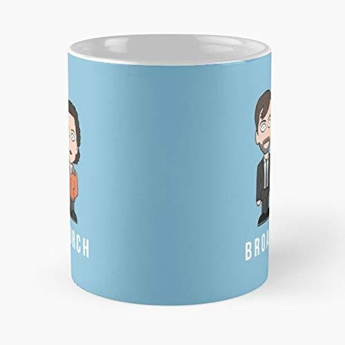 Hardy ALEC Miller Broadchurch Olivia David Ellie Colman Tennant Best 11 Ounce Ceramic Coffee Mug Best 11 oz Kaffeebecher - Nespresso Tassen Kaffee Motive !