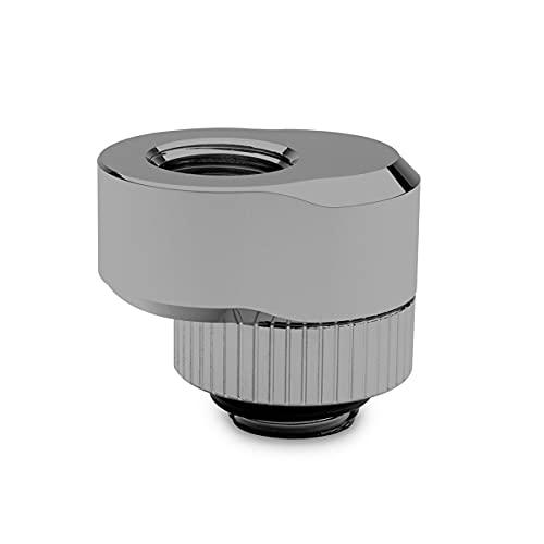 EKWB EK-Quantum - Adaptador de compensación rotativo para par de torsión, 7 mm, níquel negro