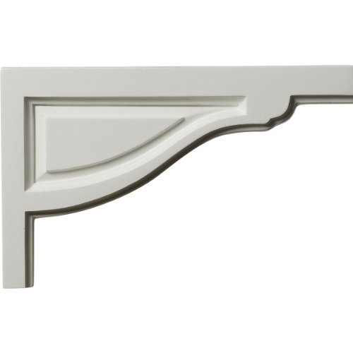 Ekena Millwork SB11X07TR-R Large Traditional Stair Bracket, Right, 11 3/4