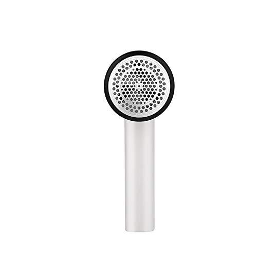 MUDEREK Removedor de pelusa eléctrico, portátil USB recargable de un botón, máquina de afeitar de red de 3 hojas para suéter/sofá/manta, cortina/calcetines