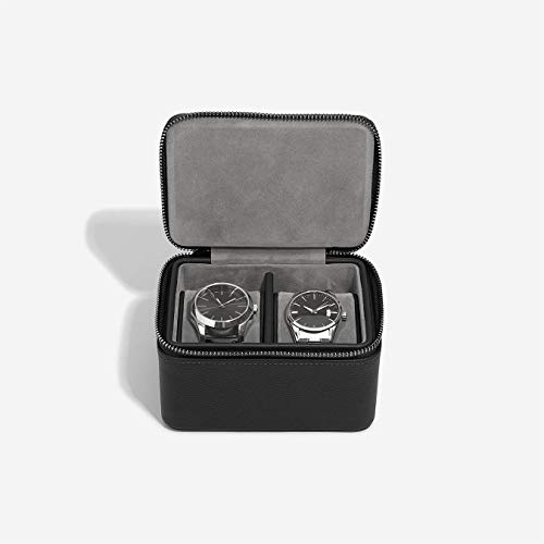Stackers Pebble Boîte à montres double Noir