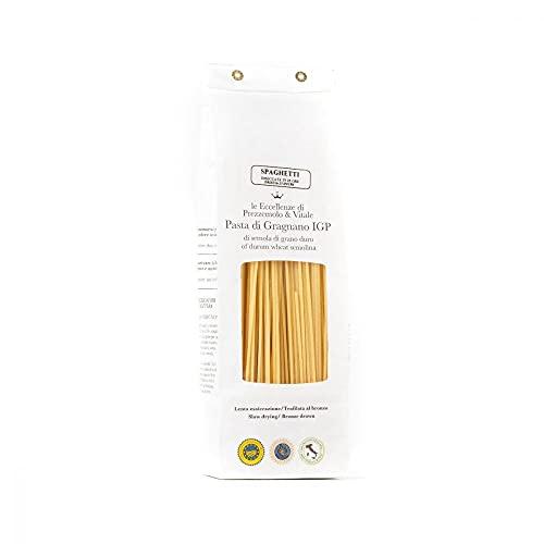 3 x 500gr Spaghetti Pasta di Gragnano IGP trafilata al bronzo grano italiano