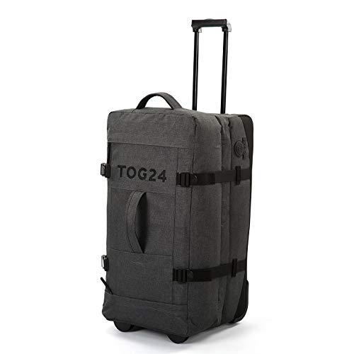 TOG24 Drake Large Suitcase with Wheels, Lightweight Duffle Wheeled Luggage 100L, Durable & Reinforced