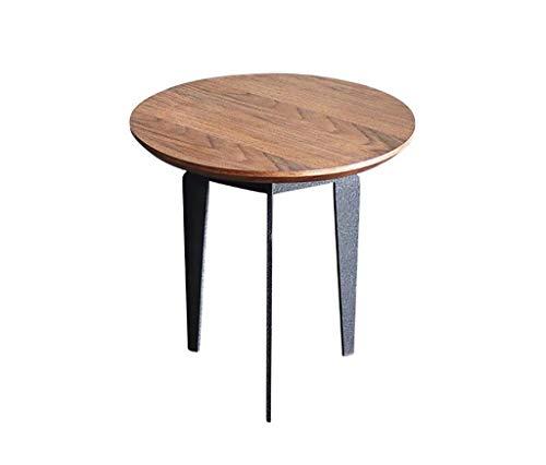 TongN Mesa de café Nordic con diseño de combinación creativa función de personalidad y armario lateral de hierro forjado (tamaño : M)