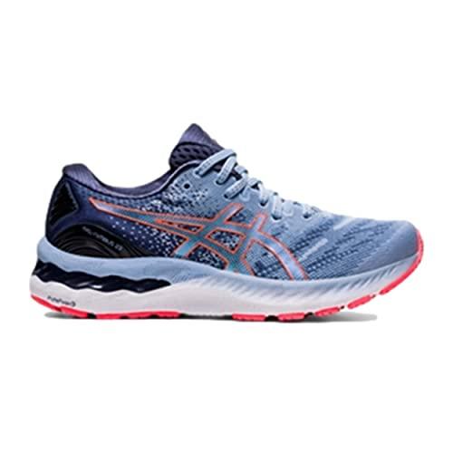 ASICS Gel-Nimbus 23, Zapatillas de Running Mujer, Mist Blazing Coral, 40 EU