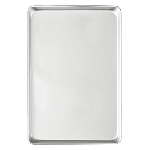 Wilton Performance Pans Aluminum Jelly Roll and Cookie Pan, 10.5 x 15.5-Inch