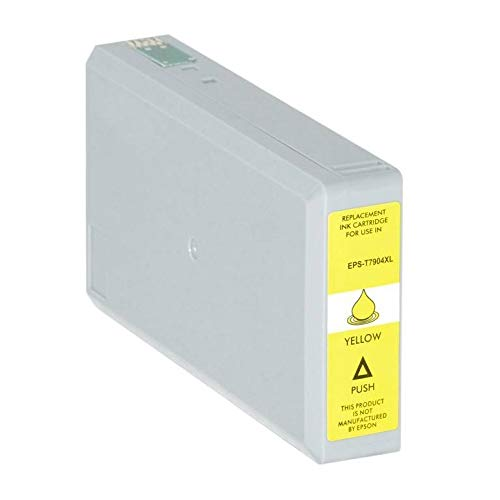 T7904-XL Cartuccia compatibile Giallo Per Epson WorkForce WF-4630 4640 5110 5190 5620 5690 79XL