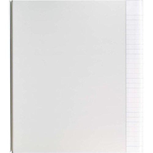 ポケットチョイス 手芸ファイル(ポケット付) A4-S 4穴 ウォームグレー