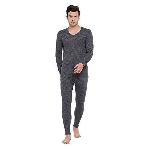 Yorker Men Soft Body Warmer Thermal Wear Set For Winter