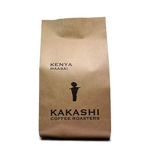 コーヒー豆 ケニア マサイAA 深煎り|アイスコーヒーにも最適|カシス香る深いコクと苦味|受注後焙煎|自家焙煎珈琲|カカシコーヒー (豆のまま400g)