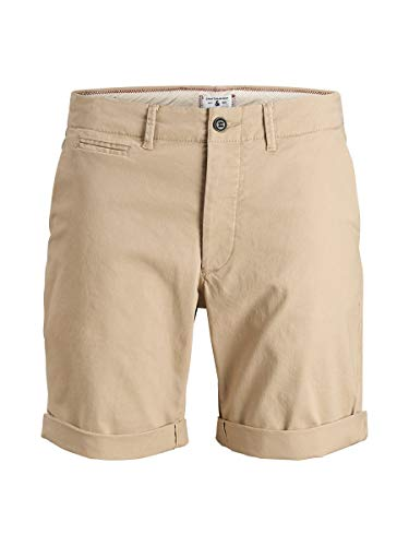 JACK & JONES Herren Chinoshorts Regular Fit MWhite Pepper 2