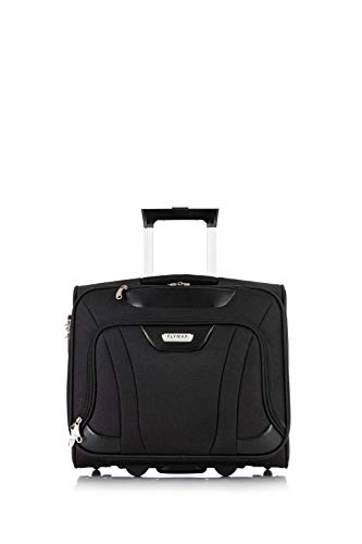 Flymax Rolling Laptop Case on 2 Wheels - Fits Most Laptops up to 16'