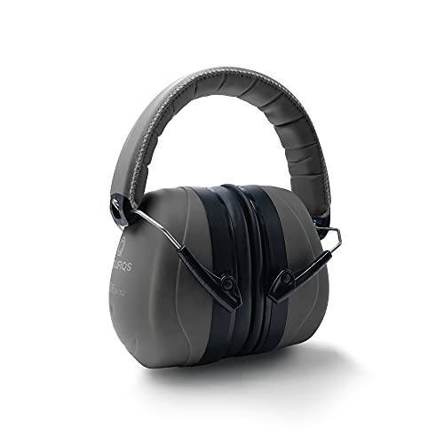 Prolifiqs Gehörschutz für Erwachsene in verschiedenen Farben – getestet bis 98 dB I Lärmschutz Kopfhörer Erwachsene I PVC-freie Lärmschutzkopfhörer für Frauen & Männer I Grau