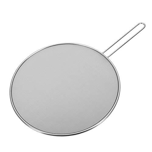 Westmark Spritzschutz, Durchmesser: 30 cm, Rostfreier Edelstahl, Picante, Silber, 12182270