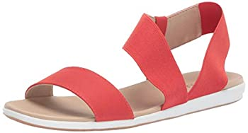 Aerosoles Women s Watch Box Flat Sandal Orange 7 M US