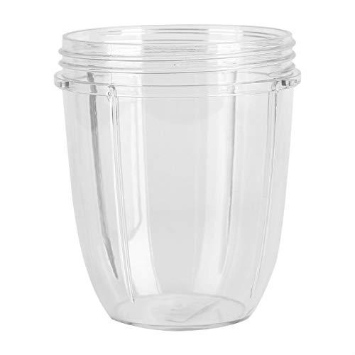 Taza exprimidora de 900W Reemplazo de Taza ecológica Segura de plástico y Caucho para Tapas y licuadoras Nutribullet 900W(18OZ)