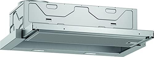 Neff D46ED22X1 Einbau-Dunstabzugshaube / Flachschirmhaube N50 / 60cm / Abluft oder Umluft / silbermetallic