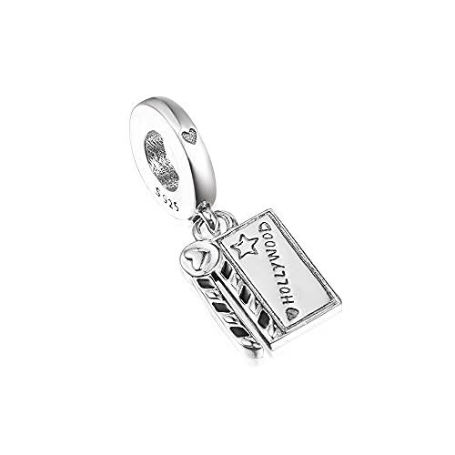 Pandora 925 plata esterlina DIY joyería Charmtrinket para perboard película pulsera cuentas para mujeres fabricación de joyas