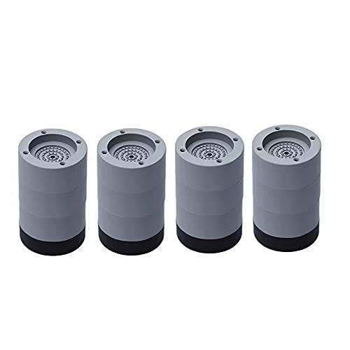 almohadillas para orejas antivibración, lavadoras y lavadoras de lavadora, pedestales para lavadora y secadora