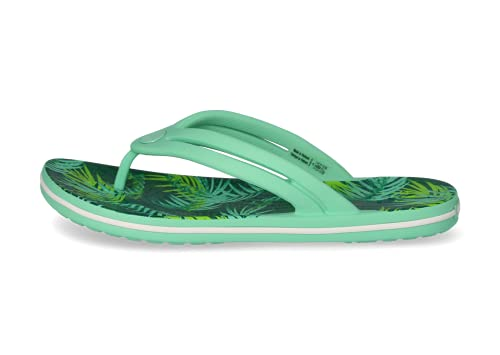 Crocs Chanclas Crocband Mujer   Sandalias, multicolor/fantasía (Tropical Palm), 36 EU