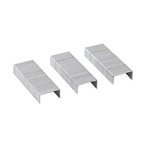 YHDNCG grapas, 500 grapas resistentes, grapas 23/10, grapas de 12 x 10 mm, ancho 12 mm, altura 10 mm, capacidad 75 páginas