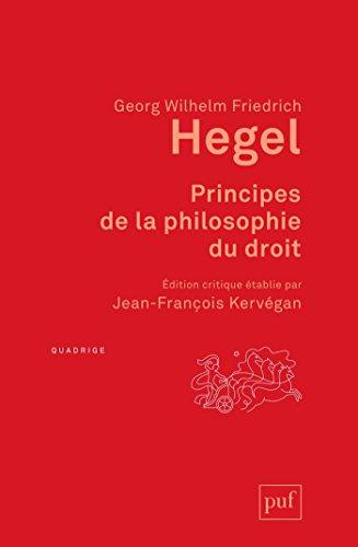 Principes de la philosophie du droit (Quadrige)
