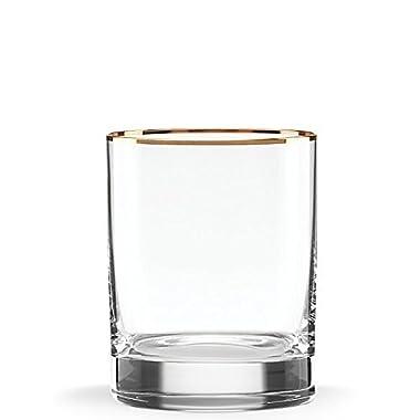 Lenox Timeless Gold DOF Glass, Clear 13 OZ
