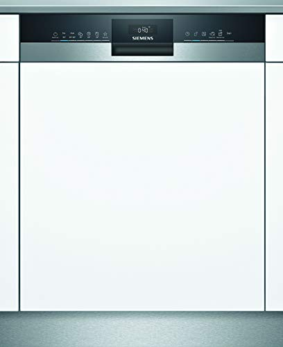 Siemens SN53HS30AE iQ300 Teilintegrierter Geschirrspüler / D / 84 kWh / 13 MGD / Smart Home kompatibel via Home Connect / varioSpeed Plus / varioFlex Körbe