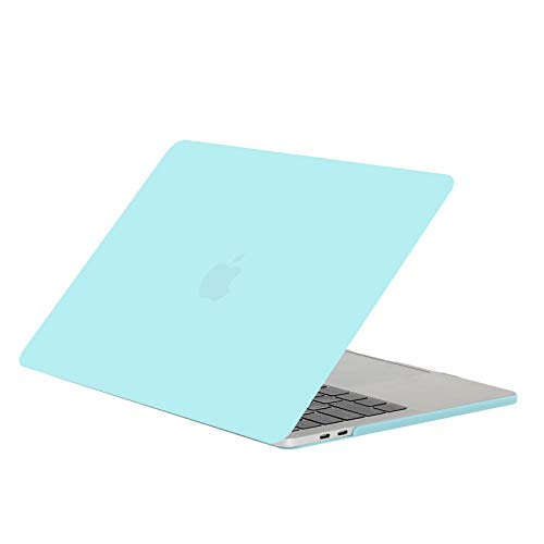 13peas Compatibel met de MacBook Air 13 inch hoes laptophoes mat plastic beschermhoes Clear Slim stootvast notebooktas schaal waterdichte harde case voor de MacBook Air 13 inch laptoptas, 4, Solid Blue