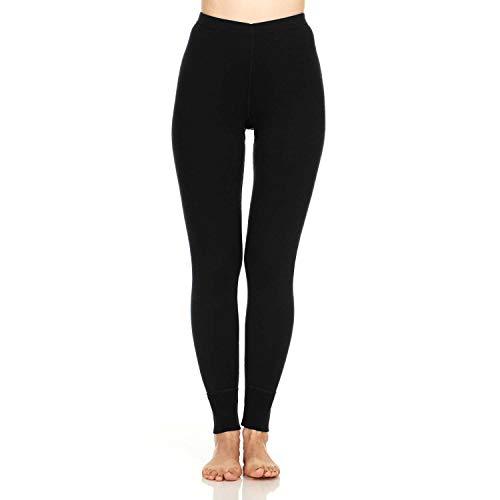 Minus33 100% Merino Wool Base Layer 803 Women's MidWeight Bottoms Black Medium