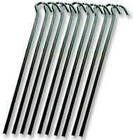 Best Price Square WIRE Steel PEG (18CM) 10 Pack CS022 by Highlander