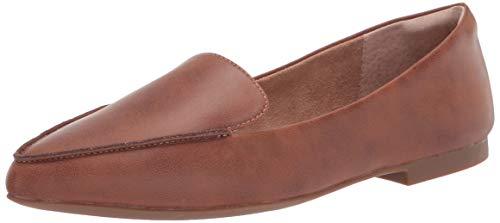 Amazon Essentials Women's Loafer Flat, Tan, 13 B US