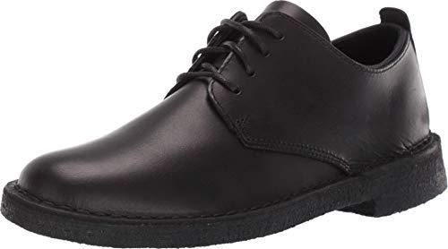 Clarks Desert London Black Leather 9