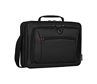 "Wenger 600646 INSIGHT 16"" Laptop Case , Airport friendly with iPad/Tablet / eReader Pocket in Grey {10 Litres}, Black, 41 cm (B004R8F9HK) 
