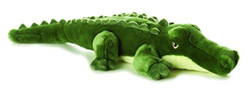 Aurora World Aurora, 06761, Flopsies Swampy Krokodil, 30cm, Plüschtier, grün