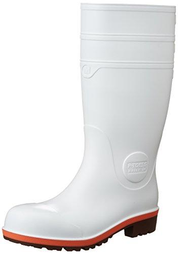 [ミドリ安全] 安全長靴 先芯入り 耐油 耐薬 プロテクトウズ5 PW1000スーパー メンズ ホワイト JP 24.0(24cm)
