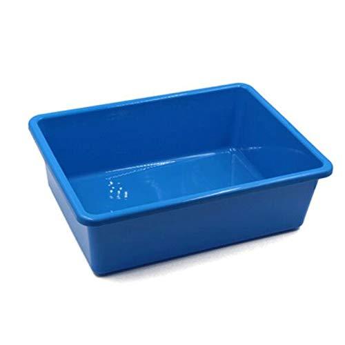 Hanpiyigzwl Cajas Almacenaje, Caja de contenedor de contenedor de Almacenamiento de plástico, Color: Azul, Verde, Rojo, Blanco, Amarillo, 1pcs, Tamaño: 29.5 * 20.1 * 12.7cm / 39.5 * 29.5 * 12.7cm