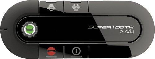 Supertooth Buddy Bluetooth-Stereo-Freisprecheinrichtung, Schwarz