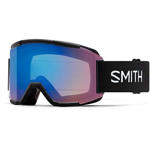 SMITH (SMIZD) SQUAD SkiBrille mit Chroma Pop, Orange, Mittelgroße Passform