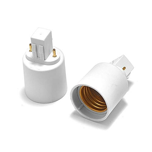 Base de bulbo Bombilla LED Extension Plug G24 for E27 adaptador G24 G23 GX23 for E26 Portalámparas Portalámparas convertidor Color del zócalo de cobre (Color : GX23 to E27)
