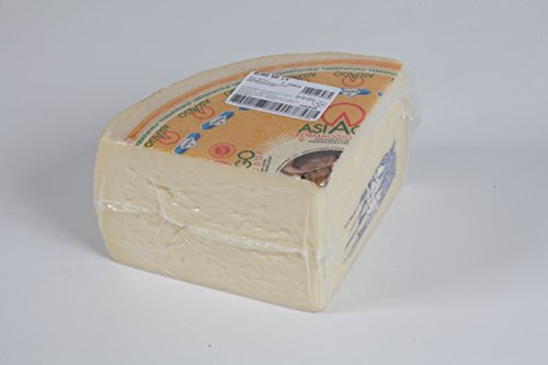 ZARPELLON - Queso Fresco Asiago DOP - una cuarta parte (3 kg aprox.) - Producto Artesanal Italiano