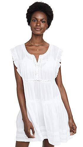 Melissa Odabash Women's Rebekah Dress, White, Medium